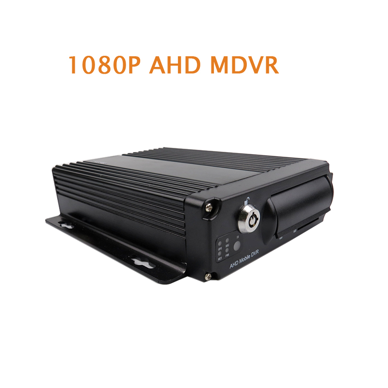 Free Shipping 4 Channel H.264 2.0MP 1080P AHD 256GB SD Mobile Car DVR MDVR Vehicle Video Recorder for Truck Van Bus In Stock 4 channel 256g sd car vehicle dvr mdvr video recorder kit cctv rear view camera dome camera for truck van bus free shipping