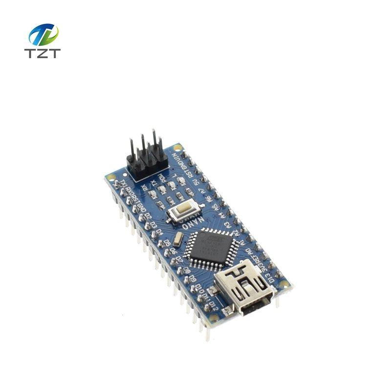 MINI USB NANO V3.0 CH340 CH340G 5 v 16 m Atmega328 ATmega328P Micro Regolatore di Bordo del Modulo per Arduino Nano 3.0 MEGA328 Pro Mini