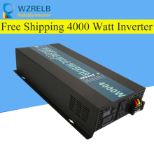 Continuous power 4000w pure sine wave solar inverter 24V to 220V off-grid pure sine wave solar inverter solar converter off grid pure sine wave solar inverter 24v 220v 2500w car power inverter 12v dc to 100v 120v 240v ac converter power supply