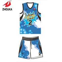 Free shipping Full Sublimation Custom Men's Basketball Sportswear Suit