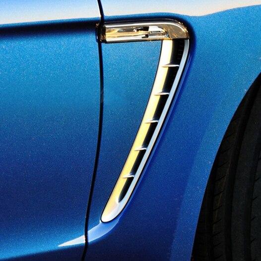 2 шт.! Автомобиль интимные аксессуары DMC Стиль боковое крыло вентиляционная решетка для Panamera 970 ремонт Стайлинг ABS Украшения отделка полосы