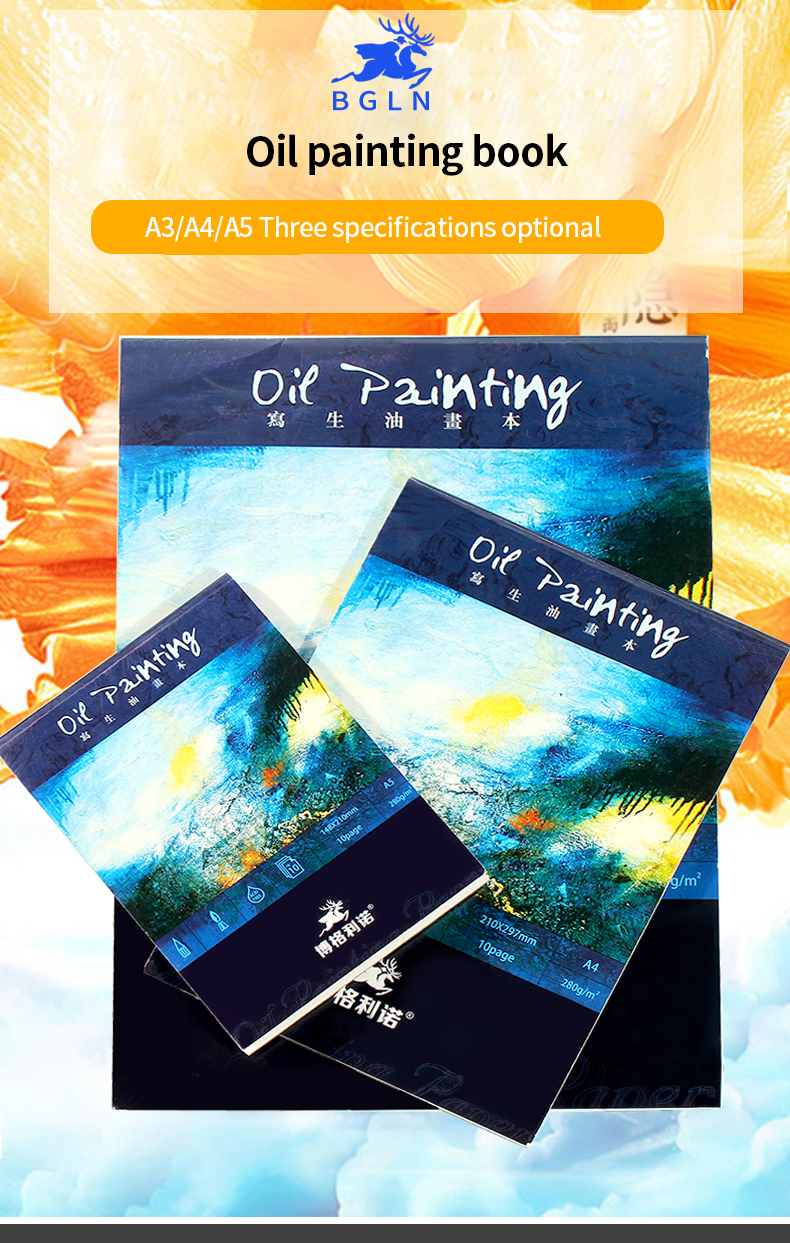 oil painting Professional Oil Painting Book School Students Art Supplies HTB13wjMRXXXXXamaFXXq6xXFXXXs