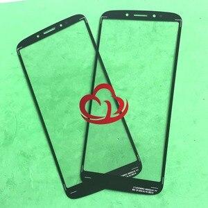 Image 2 - 10pcs/lot Replacement LCD Front Touch Screen Glass Outer Lens For Motorola E5 Plus Moto E Plus (5th Gen) XT1924
