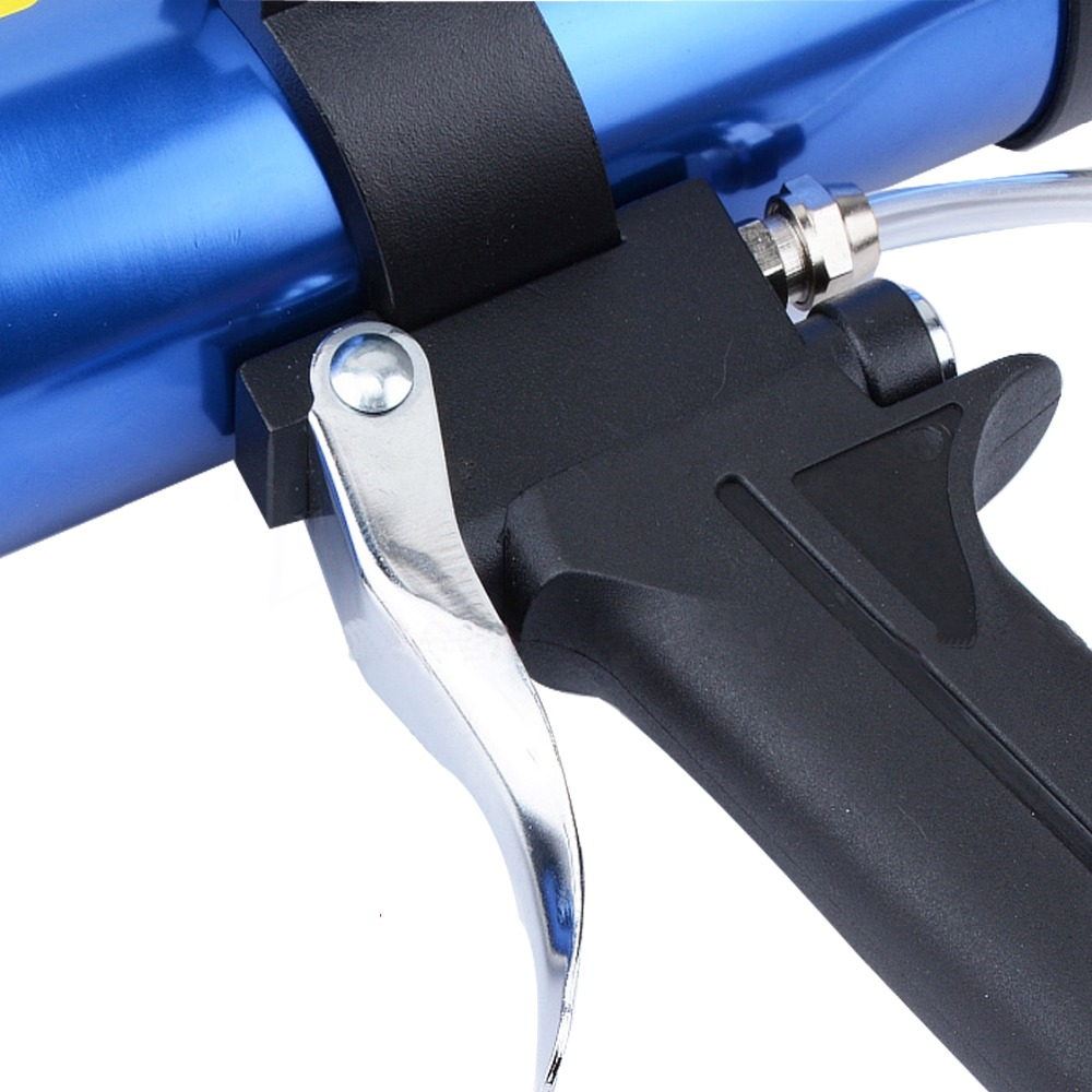 US $46 45 25% OFF|New 600ml Pneumatic Sealant Gun Air Gun Valve Silicone  Sausages Caulking Tools Caulk Nozzle Glass Rubber Grout Construction  Tool-in