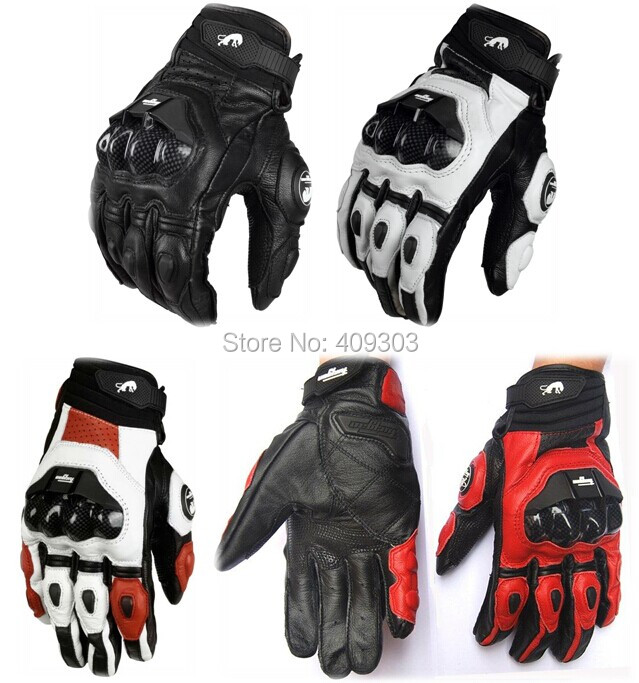 New Furygan AFS-6 genuine Leather Street Gloves motorcycle motorbike racing gloves все цены