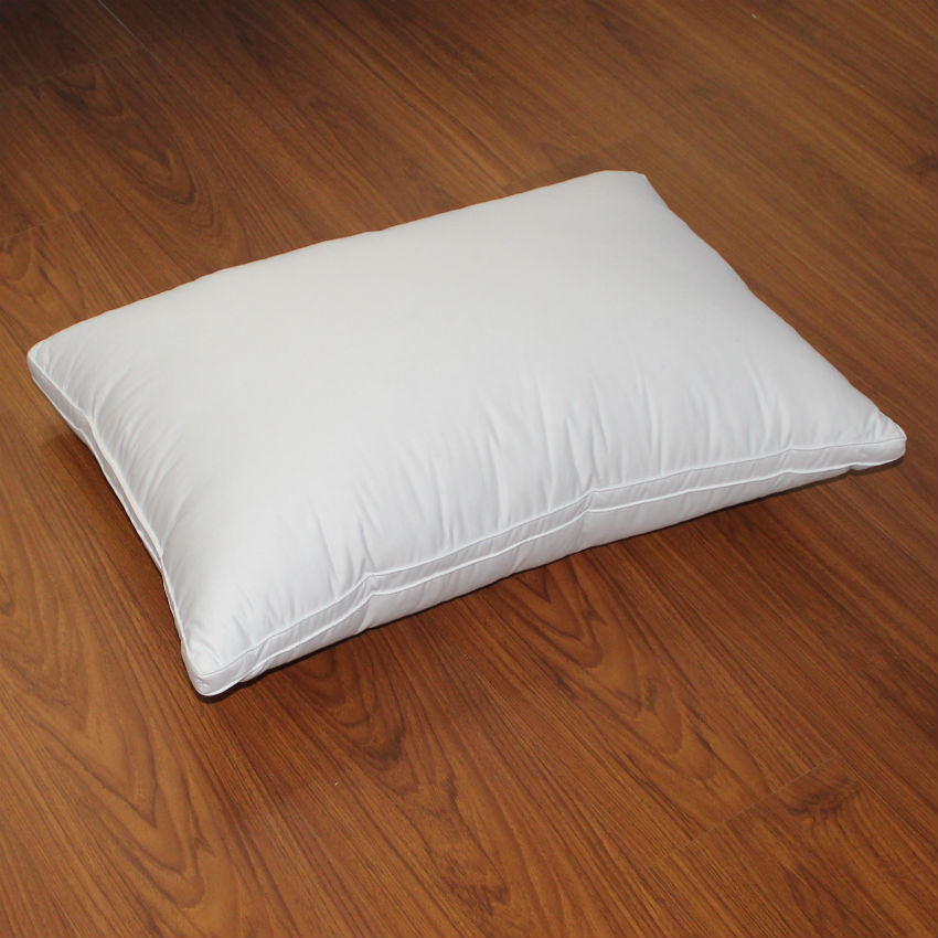 Peter Khanun Home Tekstil Sovepude 100% Bomuld Hvid Gås Feather Down Light Pillows Nultryk 3 Lag 48 * 74cm 050