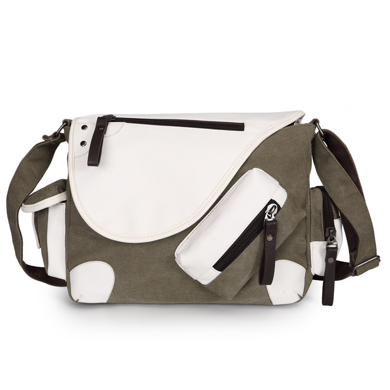 Messenger Bags Men Handbag Zipper Casual Book Phone Bag Vintage ...