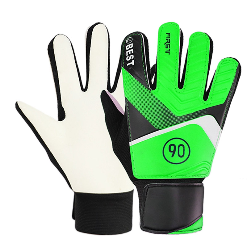 Children'S Soccer Goalkeeper Gloves Latex Anti-Collision Goalkeeper Gloves