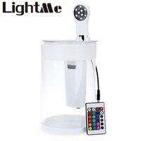 2016 Новый 9 LED Горячий Дизайн Настольная Лампа Seabillion Цветы и Рыбы аквариум Плантатор Лампы-155 ПРИВЕЛО Настольный Свет Для Кроватью Номер