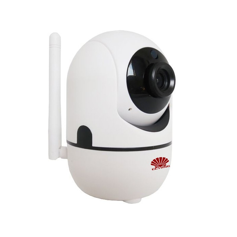 Smart Intelligent PTZ HD WIFI Camera with 1080P HD Night Vision 2way Voice 360 degree Pan Tilt (PTZ) TUTK iCloud Server Storage