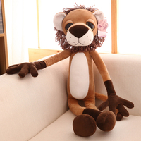lovely cartoon lion plush toy large 80cmdoll, soft throw pillow, birthday present Xmas gift 0097