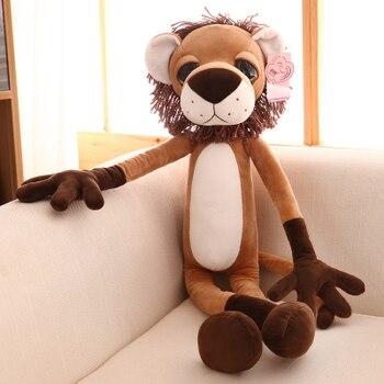 lovely cartoon lion plush toy large 80cmdoll, soft throw pillow, birthday present Xmas gift 0097