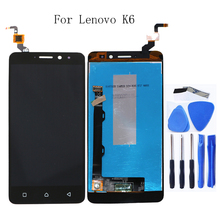 "5.0"" for Lenovo K6 Power K33a42 LCD monitor touch screen assembly replacement parts for Lenovo K6 k33a48 screen LCD display+Tool"