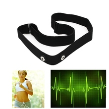 Silica Gel Fiber Wireless bluetooth Control Elastic Chest Belt Strap For Garmin Wahoo Polar Sport Heart Rate Monitr Watch Black