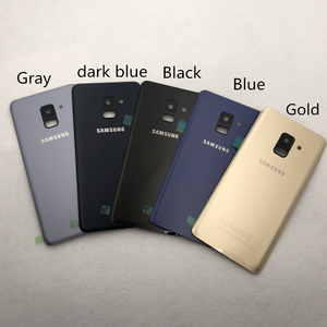 Image 3 - For Samsung Galaxy A8 2018 A530 A530F Full Housing Battery Back Cover Door Middle Frame A8 Glass Back Cover Front glass + Tools