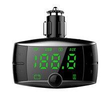 Hands Free Bluetooth fm-передатчик AUX модулятор Автомобильный MP3-плеер USB зарядное устройство беспроводной автомобильный аудио музыкальный плеер автомобильное зарядное устройство USPS