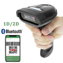 F2 ручной Беспроводной сканера штриховых кодов/HW-L28BT Bluetooth 1D/2D qr-код DateMatrix PDF 417 штрих-кодов для Android iOS iPad