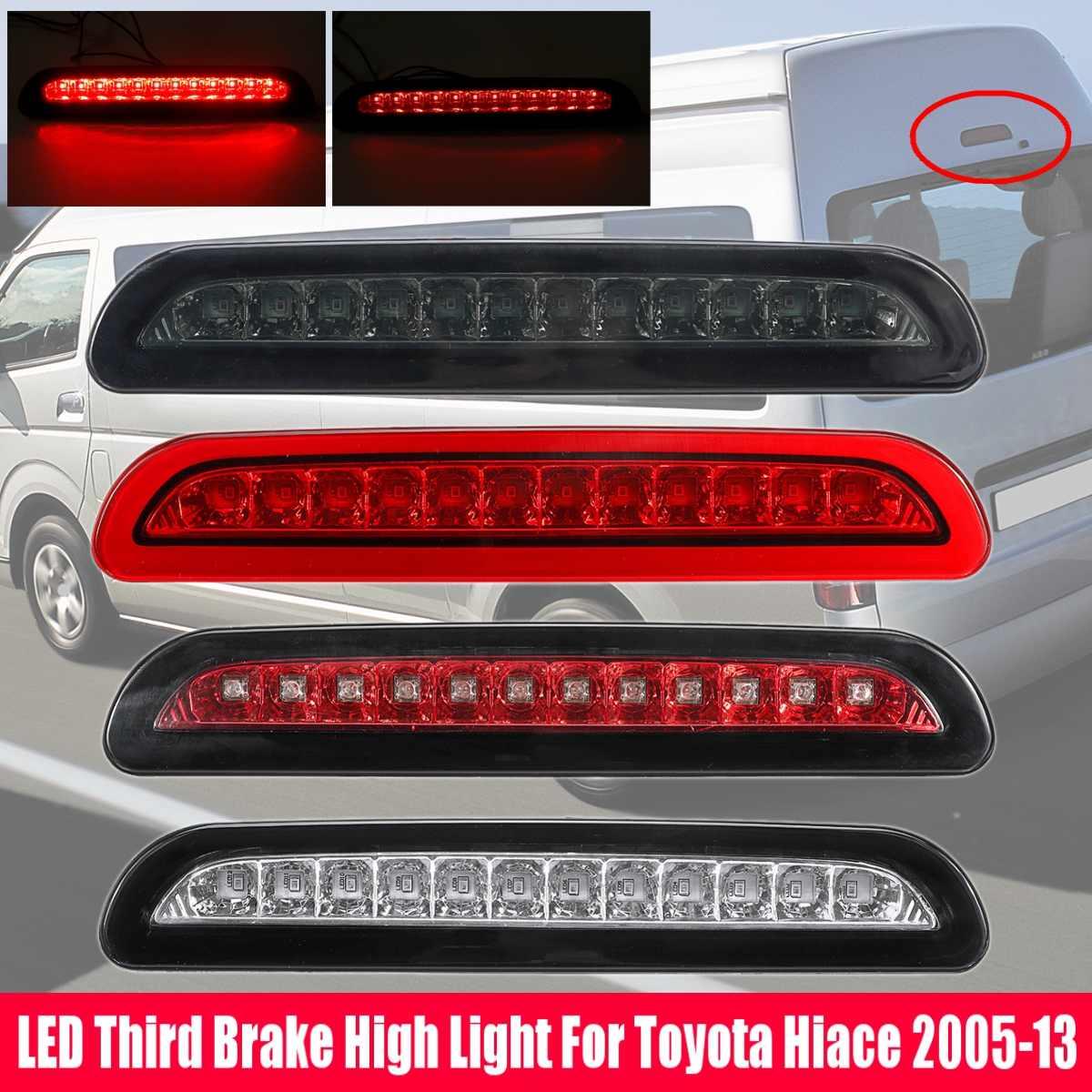 1Pcs REAR LED TAIL LIGHTS ADDUTUIBAK BRAKE PARKING LIGHTS FIT FOR TOYOTA HIACE 200 2005-2016 CAR1Pcs REAR LED TAIL LIGHTS ADDUTUIBAK BRAKE PARKING LIGHTS FIT FOR TOYOTA HIACE 200 2005-2016 CAR