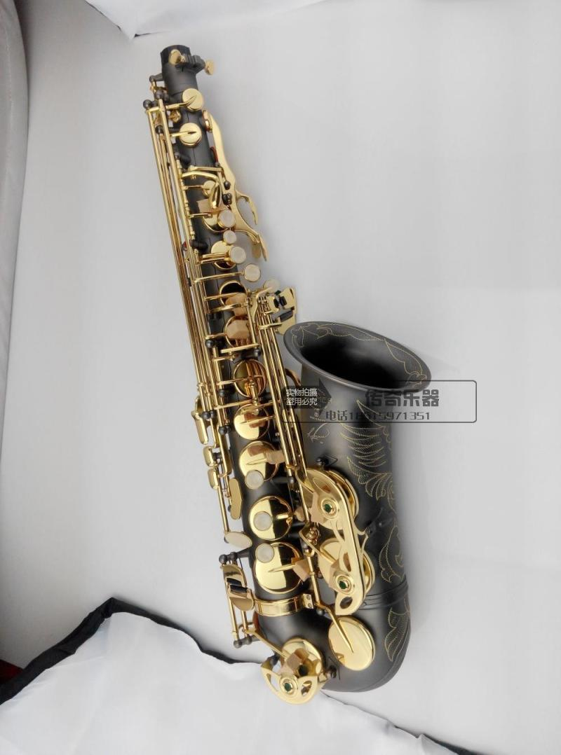11.11 New Alto saxophone selmer54 Golden key E alto Nickel Plated musical instrument Playing saxophone free shipping free shipping france henri selmer saxophone alto 802 musical instrument alto sax gold curved saxfone mouthpiece electrophoresis