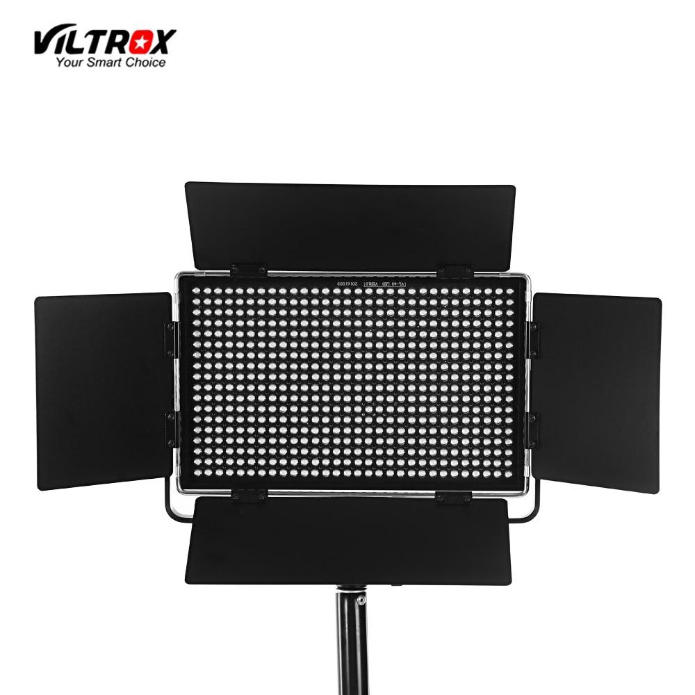 Viltrox VL-40B Professional Ultra-thin LED Video Light Photography LED Light 5600K Fixed Color Temperature Adjustable Brightness