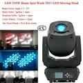 4 шт./лот новейший 230 Вт Светодиодный прожектор с движущейся головкой диско-свет DMX луч моющиеся пятна 3в1 подвижная голова DJ Вечеринка планка ...