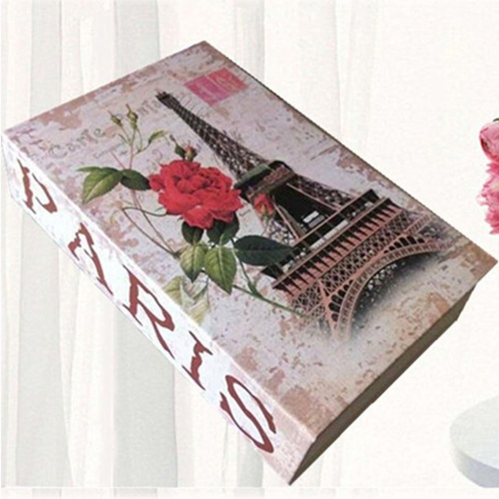 Batterie-Aufbewahrungsboxen & Ablagen Hidden Book Security Geld sicheres Geldkassensperre cofres Geldschrank Porta joias cofre para moedas