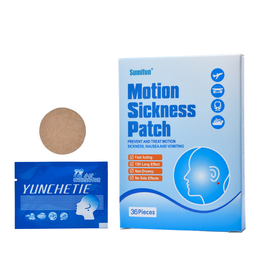 Motion Sickness Patch Prevet And Treat Motion Sickness,nausea And Vomiting 36 Pieces nahid sharmin and reza ul jalil mucoadhesive bilayer lidocaine buccal tablet to treat gum diseases