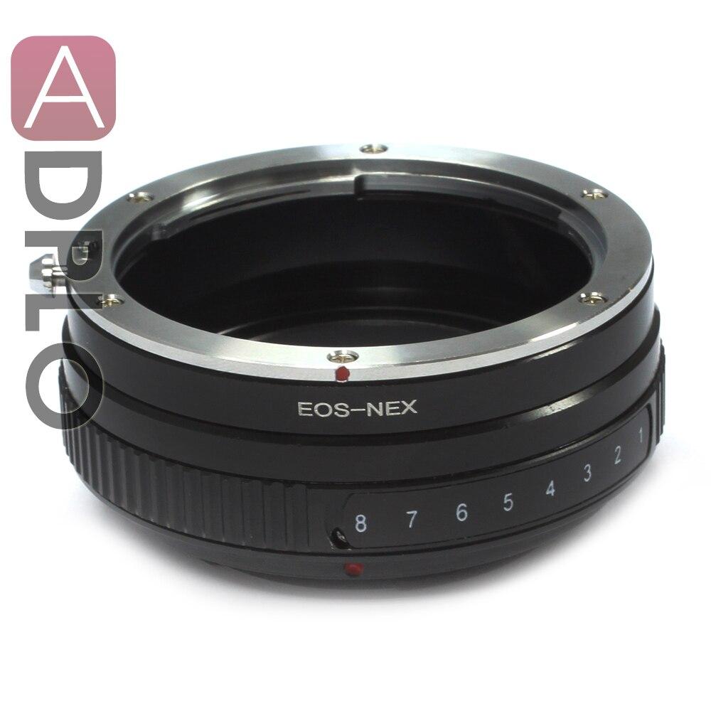Pixco Tilt adaptador para Canon EOS EF lente a Sony NEX-7 NEX-6 NEX-5R NEX-5N NEX-F3 NEX-VG10 NEX-VG20 NEX-VG30 NEX-VG900