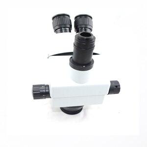 Image 3 - Schiff von Spanien 34MP Digital mikroskop kamera 3.5X 90X simul brenn Trinocular Stereo Mikroskop löten pcb telefon reparatur