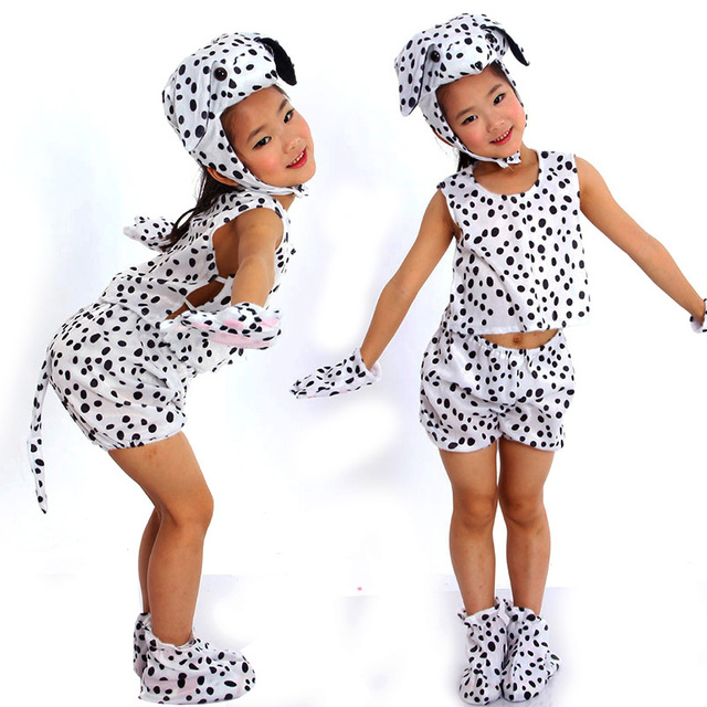 Free shipping Children animal spotty dog costume top clothes pants shoes hat gloves set for  sc 1 st  AliExpress.com & Free shipping Children animal spotty dog costume top clothes pants ...