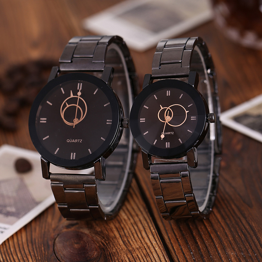 Vansvar Casual Lover's Watches Stainless Steel Band Marble Strap Analog Wrist Watch women's watches famous brand clock  2019