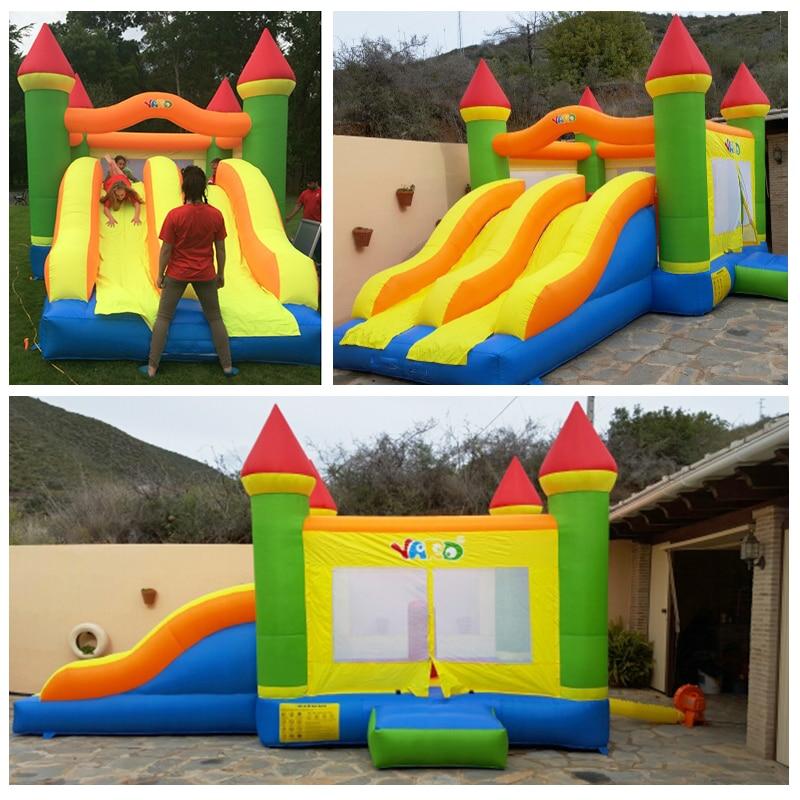 o ventilador 654538 m tamanho grande bouncy presente natal castelo 03