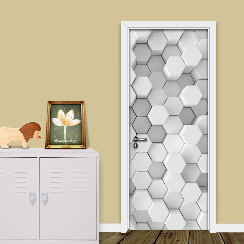 Modern Simple Art 3D Mosaic Geometric Lattice Wallpaper Living Room Bedroom DIY Door Mural Sticker Wallpaper For Walls Roll 3D battlefield 3 или modern warfare 3 что