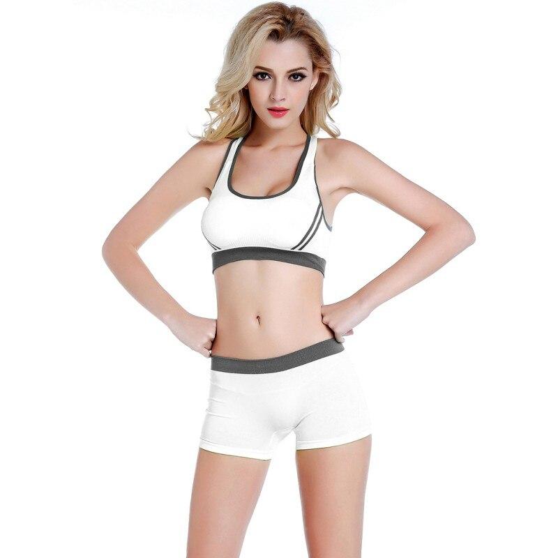 Detail Feedback Questions about Women Yoga Sports Sets 2Pcs Sportwear Suits Sport  Bra Running Gym Fitness Tank Top Elastic Short on Aliexpress.com  6b61378c32
