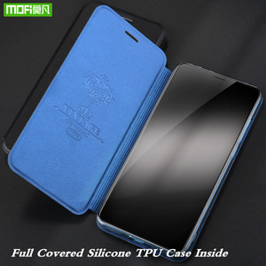 Image 5 - לכבוד 20 מקרה לכבוד 20 פרו כיסוי Flip דיור MOFi Huawei 20 Coque TPU עור מפוצל ספר Stand Folio
