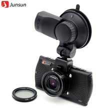 Junsun Ambarella A12 Автомобильный видеорегистратор Камера FHD 2560*1440 P GPS Logger видеомагнитофон ночного видения Автомобильный видеорегистратор Даш Cam CPL Поляризационный Фильтр