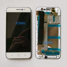 100% testado original branco 4.7 polegada para coolpad porto e560 display lcd + touch screen digitador assembléia com quadro