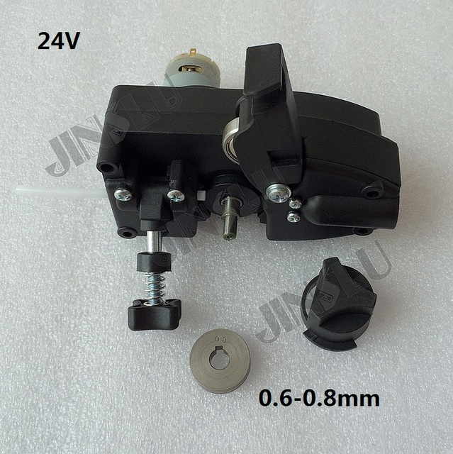 24V DC Light Duty MIG Wire Feeder Assembly Wire Feed Machine For ...