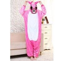 Abbille Hot Dinosaur Unicorn Pikachu Unisex Flannel Hoodie Pajamas Costume Cosplay Animal Onesies Sleepwear Women Christmas
