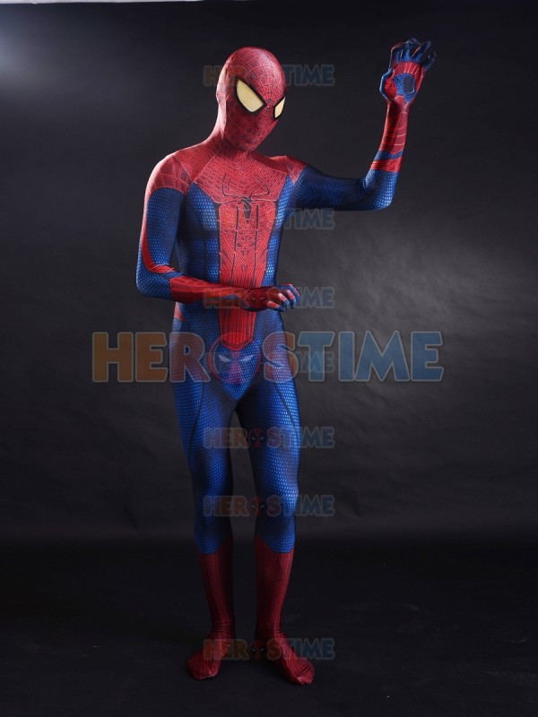 The Amazing Spider man Cosplay Costume 3D Printed Movie Halloween Spandex zentai TASM Spiderman full bodysuit