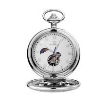 OUYAWEI Pocket Watch Men Mechanical Hand Wind Pocket watches for men colar masculinn vintage pocket fob watches reloj de bolsill цена