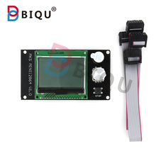 BIQU MKS MINI 12864 LCD Dispaly Compatible Marlin SD Card Side Of The Plate Control Board More Suitable For Small 3D Printers