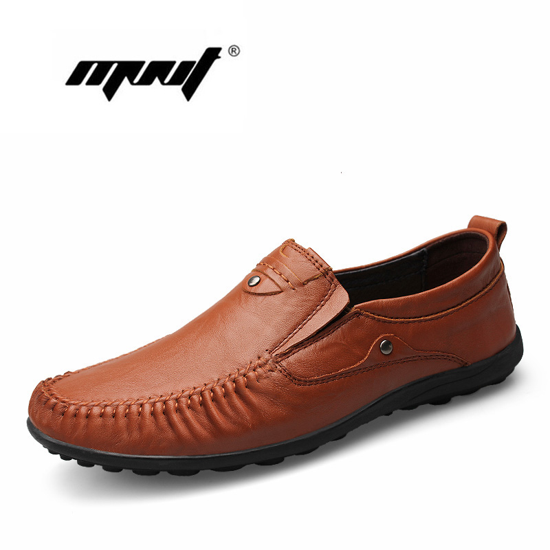 New Fashion Men Shoes Super Soft Loafers Moccasins Hndmade Plus Size Casual Shoes Genuine Leather Driving Flats Shoes цены онлайн