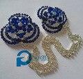 Bufanda pasadores de cadena brillante sombrero cabeza cadena pin tapa hijab pins imperdibles khaleeji musulmanes 10 unids/lote mix colors envío nave