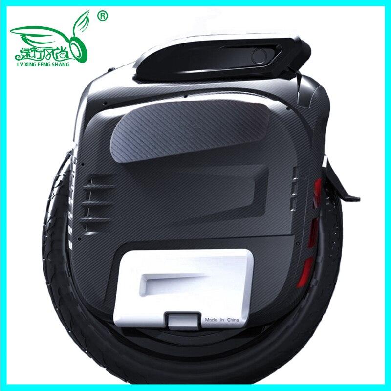2019 Date Gotway Msuper X-S modèle 100 V 1230WH, 19 pouces Haute-performance monocycle électrique, max vitesse est 65 km/h 2000 W moteur