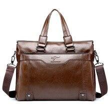 Berühmte Marke Schulter reisetasche Aus Echtem Leder herren Aktentasche Business-männer Handtasche Messenger Laptoptasche männer Totes Handtasche
