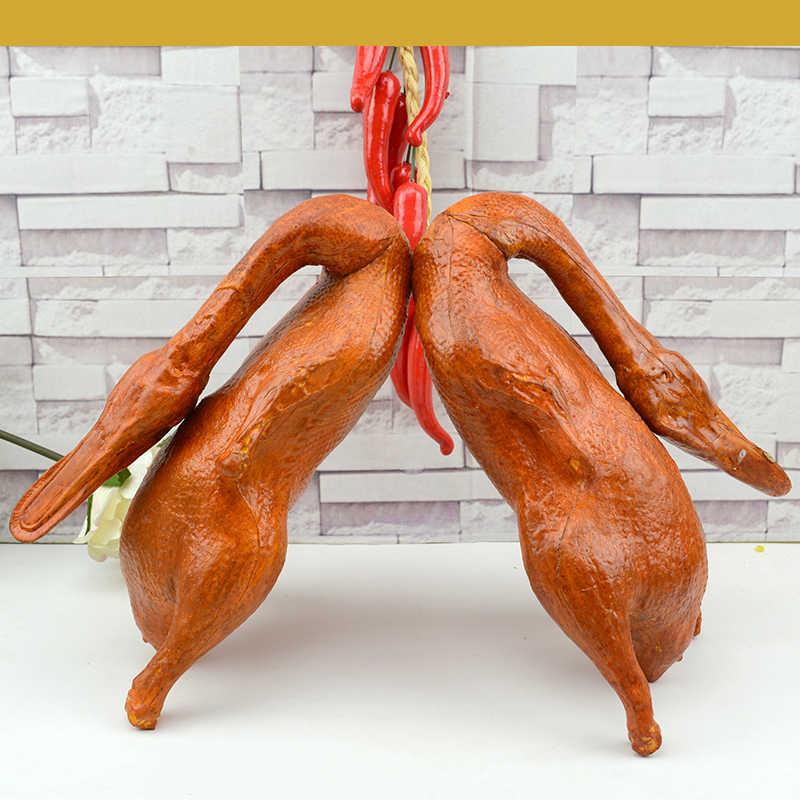 050 имитация жареная утка поддельные Шам жареная утка жареная курица дисплей Модель посуды