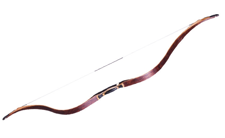 Archery Laminated Bamboo Recurve Bow 30-55lbs 53inch Small Siyah Bow High Velocity Hunting Traditional Bow