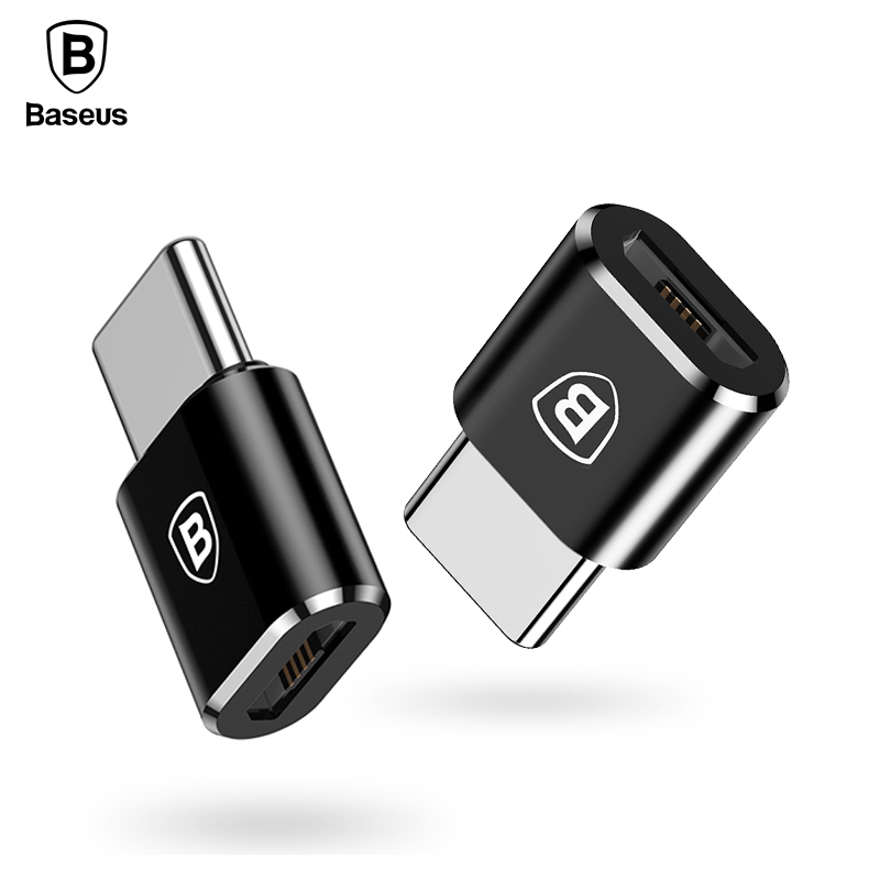 Baseus Micro USB Type C OTG Adapter Type-c Male to Micro USB Female Charger Plug Adapter Converter Micro USB to USB-C Adapter