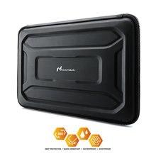 Nacuwa 360 derece darbeye dayanıklı su geçirmez koruyucu dizüstü bilgisayar için kılıf çanta durumda 13   13.3 inç, 15 inç bilgisayar çantası